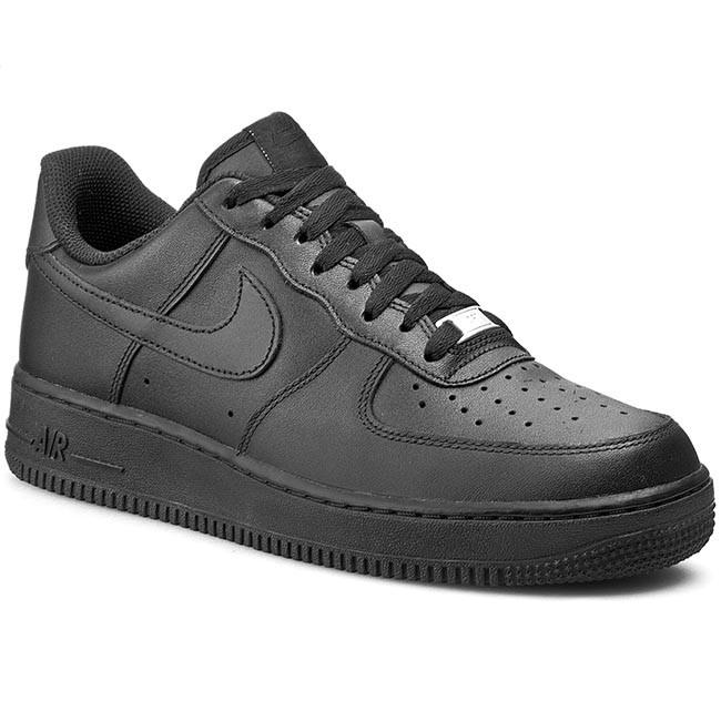 fbcb9750ae995 Scarpe NIKE - Air Force 1  07 315122 001 Black - Sneakers - Scarpe ...