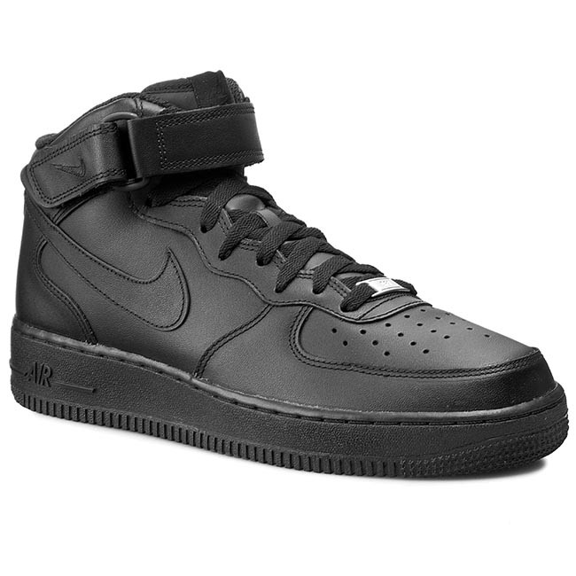 finest selection f6199 3ed22 Scarpe NIKE - Air Force 1 Mid  07 315123 001 Black
