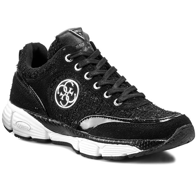 Scarpe Phylonette basse Sneakers FL4PHY GUESS FAM12 BLACK TvnqS7Trw