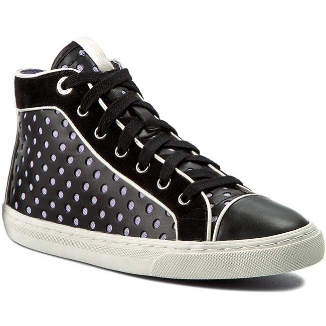 Sneakers GEOX - D New Club B D5258B 0BC21 C9997 Nero - Basse ... 66fe18948d1