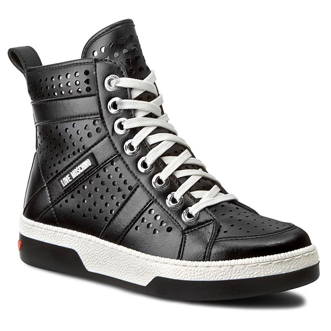 Sneakers LOVE MOSCHINO - JA15203G01JJ0000 Nero - Basse - Scarpe ... bf407175ea6