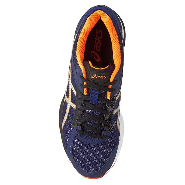 Scarpe ASICS Gel Pulse 7 T5F1N Deep CobaltSilverHot Orange 5093