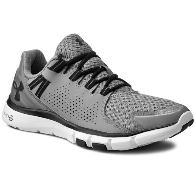 Ua grigio escarpe ARMOUR G Sintetico 3000101 Pursuit UNDER Micro Scarpe EOa8Snq