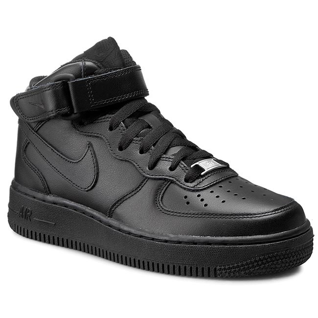 sports shoes 56bf4 264c4 Scarpe NIKE - Air Force 1 Mid  07 LE 366731 001 Black Black