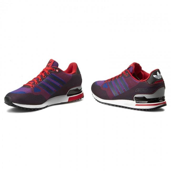newest ff15f 5698c Scarpe adidas - Zx 750 Wv S79199 Blu scuro Rosso