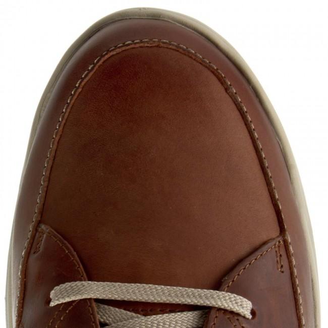 Leather Da Basse Clarks Park5 Tan Scarpe 203585937 Stafford LSqUVGzpMj