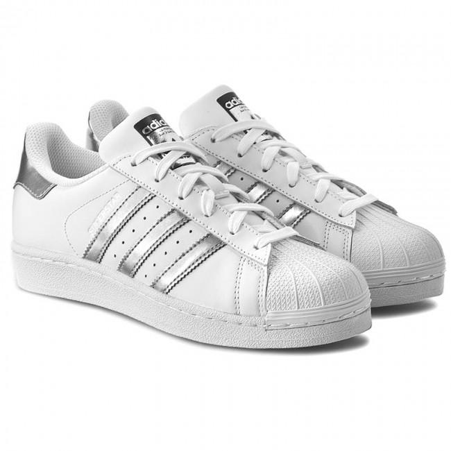 los angeles 0dfed 3a82d Scarpe adidas - Superstar AQ3091 Ftwwht Silvmt Cblack - Sneakers - Scarpe  basse - Donna - www.escarpe.it