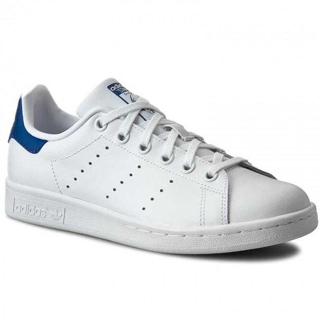 Stan S74778 Smith Stringate J Ftwwhtftwwhteqtblu Adidas Scarpe SwZgq8F