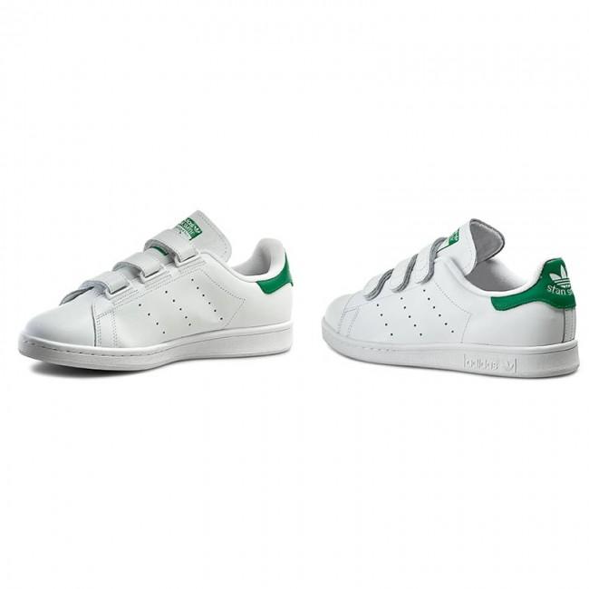 new style ace01 e3e45 Scarpe adidas - Stan Smith CF S75187 Ftwwht Ftwwht Green