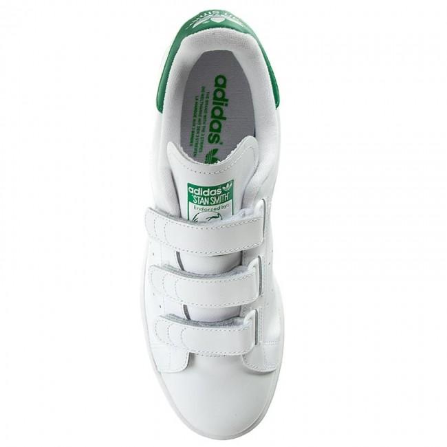 Scarpe adidas - Stan Smith Smith Smith CF S75187 Ftwwht Ftwwht verde - scarpe da ginnastica - Scarpe basse - Donna | Qualità E Quantità Assicurata  | Uomini/Donna Scarpa  e9ac21