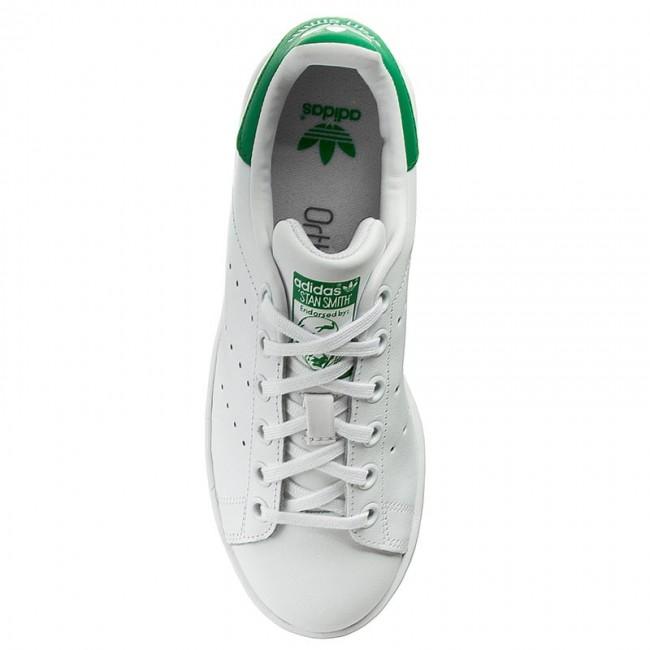 Scarpe Adidas Stan Smith J FtwWhtFtwWhtGreen M20605 | eBay