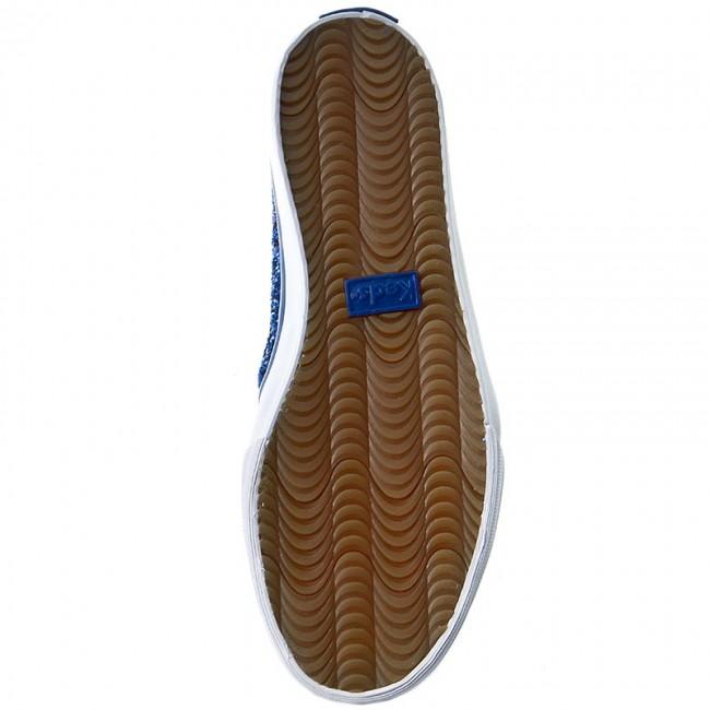 Scarpe sportive KEDS - Double Decker WF54671 Glitter blu - - - Basse - Scarpe basse - Donna d189f1