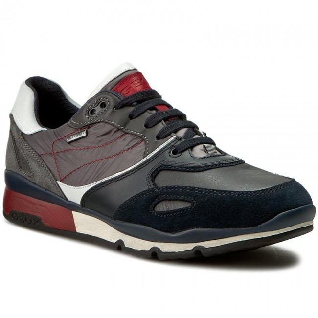 0568656fe13d8 Sneakers GEOX - U Sandro B Abx A U44S7A 022FU CF49A Navy Anthracite ...