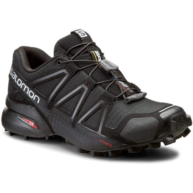 b7f88e63040 Scarpe SALOMON - Speedcross 4 W 383097 20 V0 Black/Black/Black Metallic