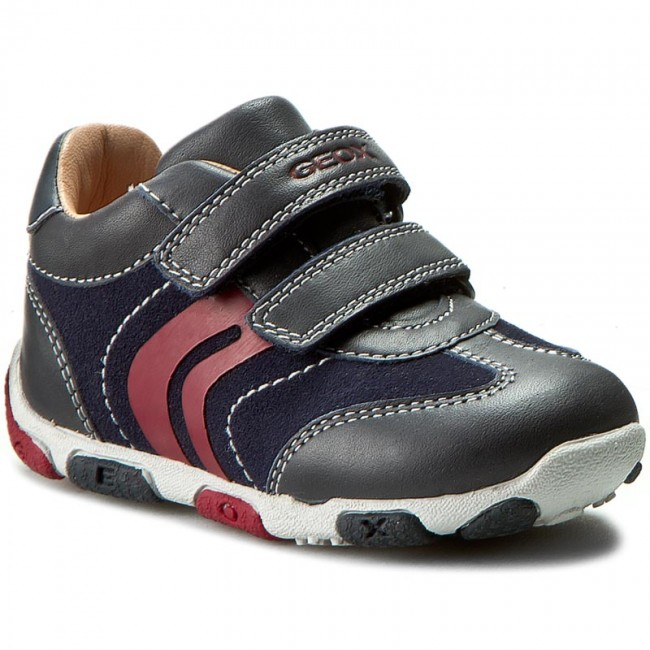 05651d2bc2 Scarpe basse GEOX - B Balu B. C B5436C 04322 C4075 Dk Navy/Red ...