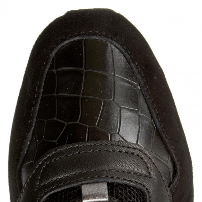 Sneakers GEOX D Shahira A D44N1A 08504 C9999 Black
