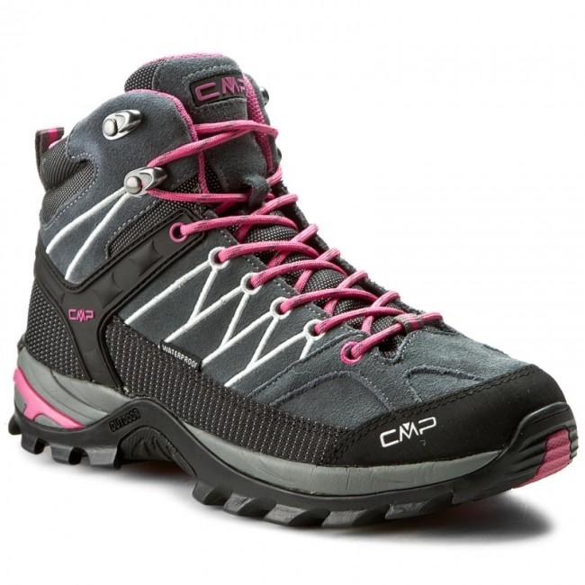 Scarpe da trekking CMP - Rigel Mid Wmn Trekking Shoes Wp 3Q12946 Grey Fuxi  103Q 27c980a796a