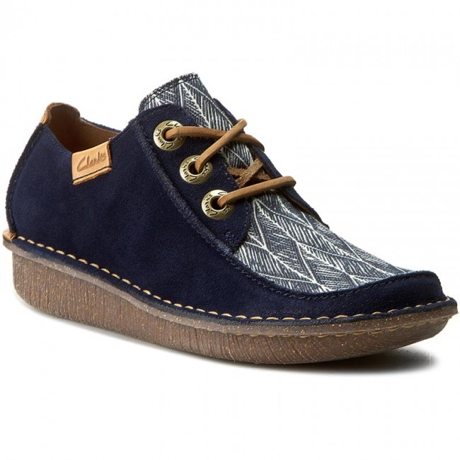 Scarpe 261237534 Clarks Interest Funny Basse Navy Dream 1v1WqBrUgn