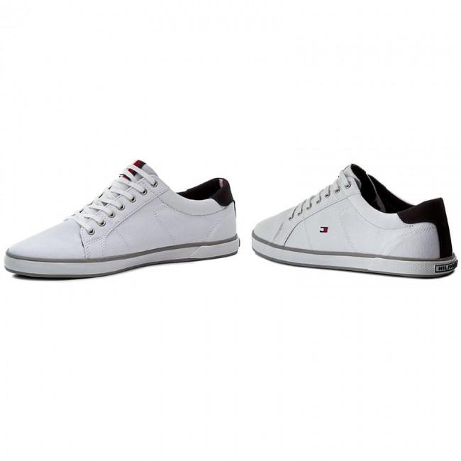 TOMMY Charcoal 007 HILFIGER Scarpe sportive FM0FM00592 Heritage Suede Sneaker gOAAq1