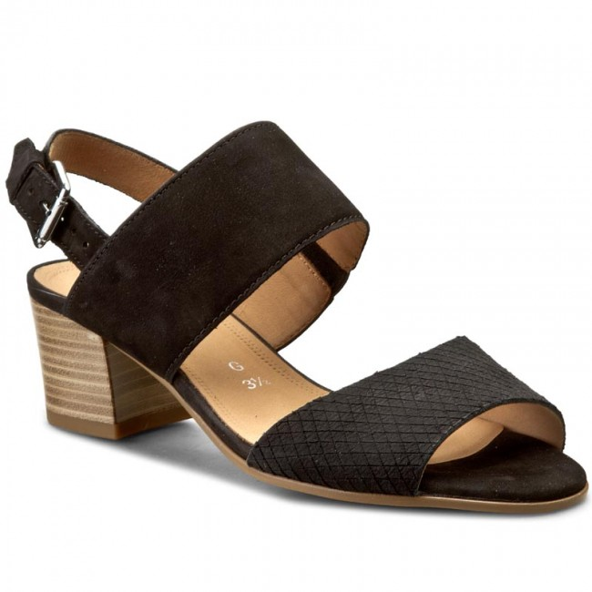 Sandali GABOR - 42.375.47 nero - Sandali da giorno - Sandali - Ciabatte e sandali - Donna | Ogni articolo descritto è disponibile  | Sig/Sig Ra Scarpa