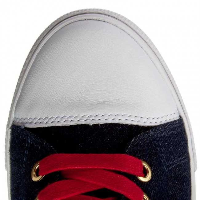 Tommy Hilfiger Low Lace Sneaker Gigi Hadid 1C