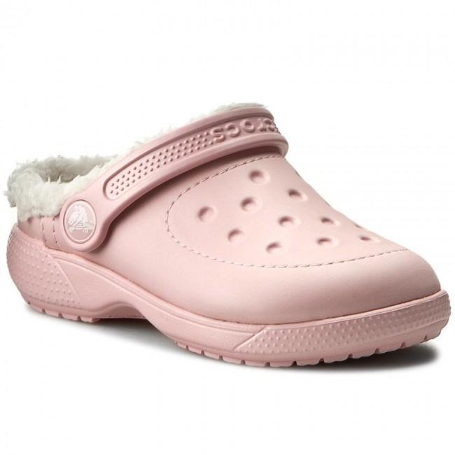 Pantofole CROCS - Colorlite Lined Clog K 16196 Pearl rosa/Oatmeal 9zayA