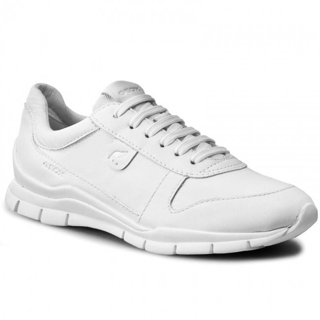 Sneakers GEOX - D Sukie A D52F2A 00085 C1001 Bianco - Sneakers ... 4e42ecad515