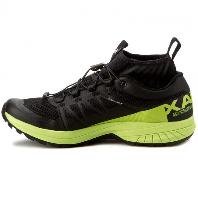 Обувки SALOMON Xa Enduro 392407 27 G0 BlackLime Green