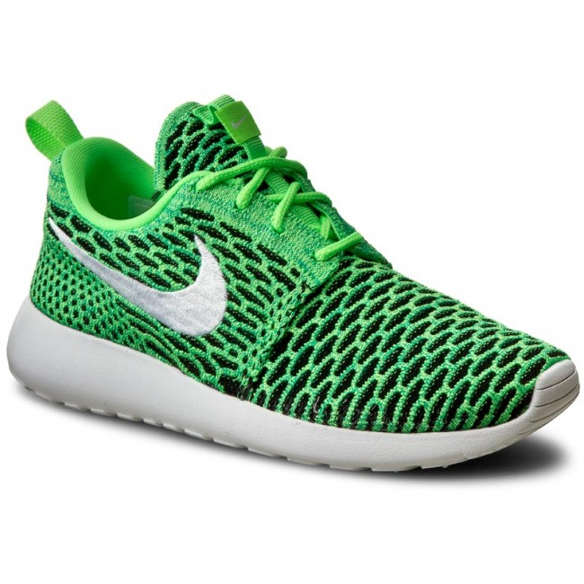 online store e06b3 be685 Scarpe NIKE - Roshe One Flyknit 704927 305 Voltage GreenWhiteLcd Green