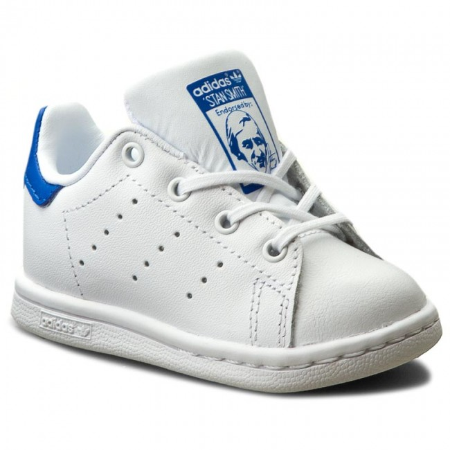 Scarpe adidas - Stan Smith I BB3000 Ftwwht/Ftwwht/Blue