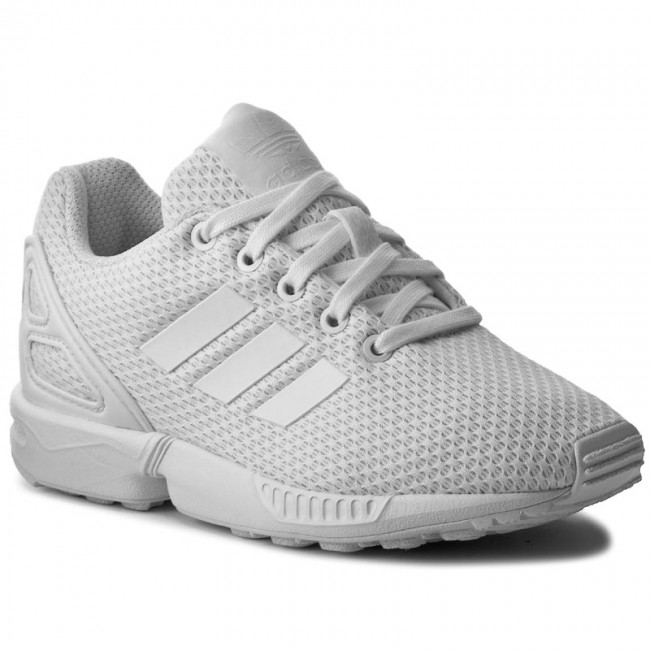 Scarpe adidas - Zx Flux C S76296 Ftwwht Ftwwht Ftwwth - Stringate ... 7f5704be900