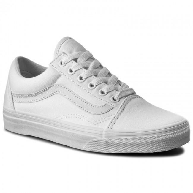Scarpe sportive VANS - Old Skool VN000D3HW00 True White - Scarpe da ... 8cfeaa22ac5