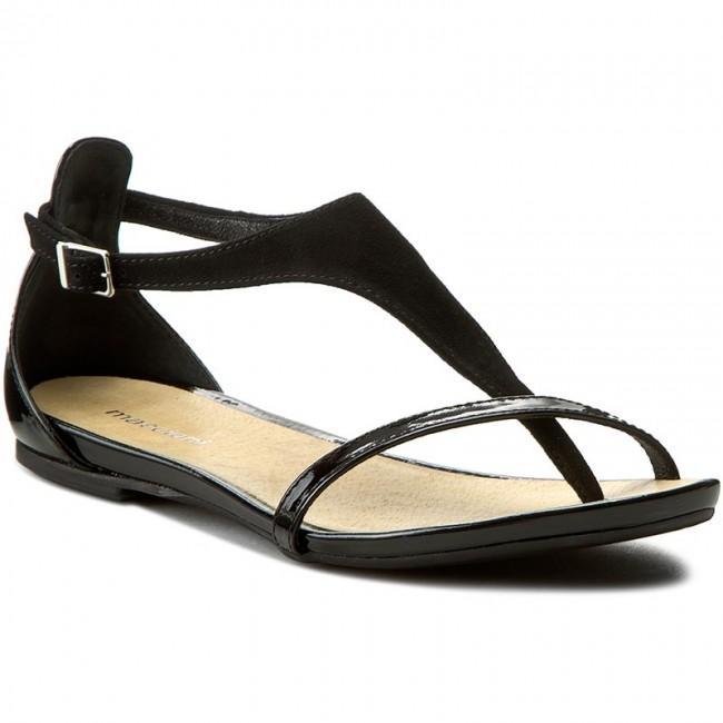 Sandali MACCIONI - 254 Czarny Zamsz - Sandali da da da giorno - Sandali - Ciabatte e sandali - Donna   Esecuzione squisita    Uomo/Donna Scarpa  f118f7