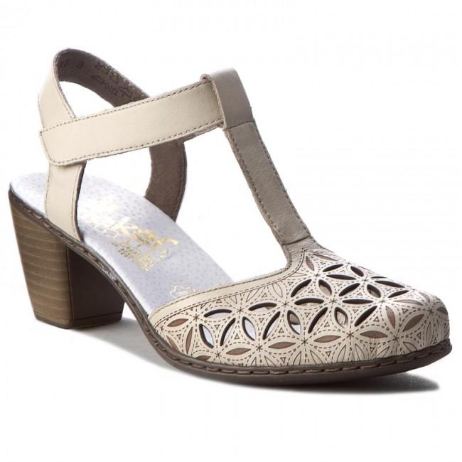 Sandalo RIEKER 40995 40995 RIEKER 80 Weiss Sandalo da giorno Sandalo   7ed816