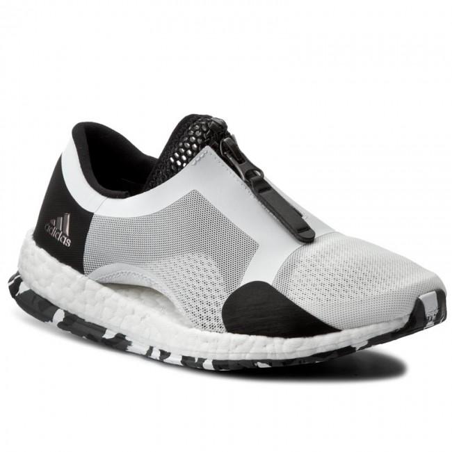 a661a07592eaa Scarpe adidas - PureBoost X Tr Zip BB1578 Ftwwht Cblack - Scarpe da ...