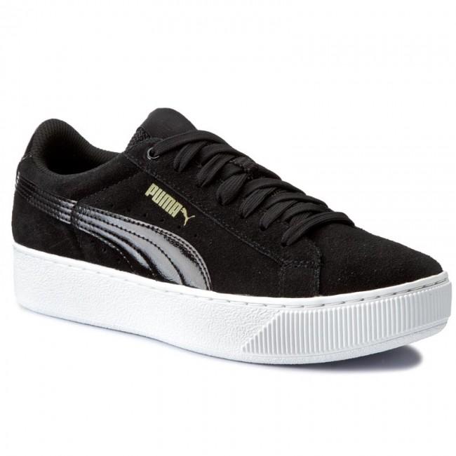 859e062a04cad Sneakers PUMA - Vikky Platform 363287 05 Puma Black Puma White ...