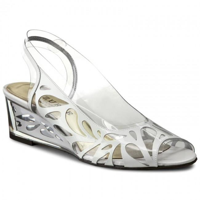 Sandali AZURÉE - Nasva 30De Vernis bianca 01 - Zeppe - Ciabatte e sandali - Donna | Ottima classificazione  | Scolaro/Signora Scarpa