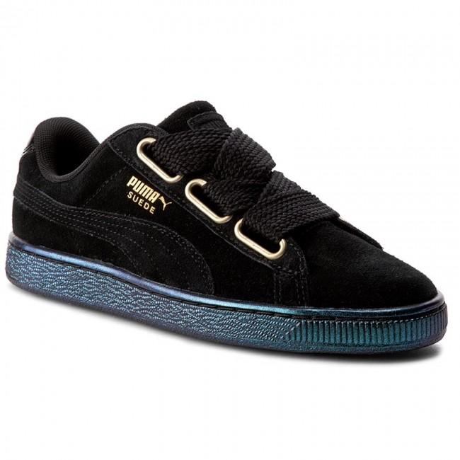 Sneakers PUMA - Suede Heart Satin Wn s 362714 03 Puma Black Puma Black f177215f1