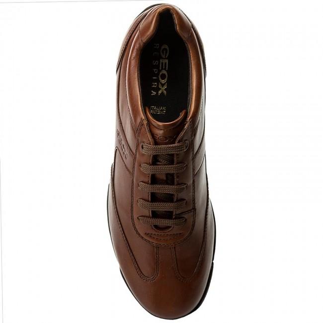 Sneakers GEOX - U Edgware B U743BB 043BC C6001 Cognac - Sneakers - Scarpe  basse - Uomo - www.escarpe.it 9f1d7544c01