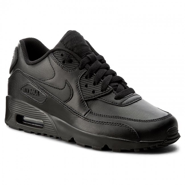 new product 81c8d e5527 Scarpe NIKE - Air Max 90 Ltr (GS) 833412 001 Black Black