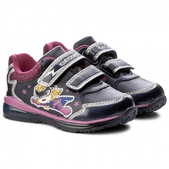 Geox B7485A 05402 Rosa Sneakers Bambino Scarpe Economiche