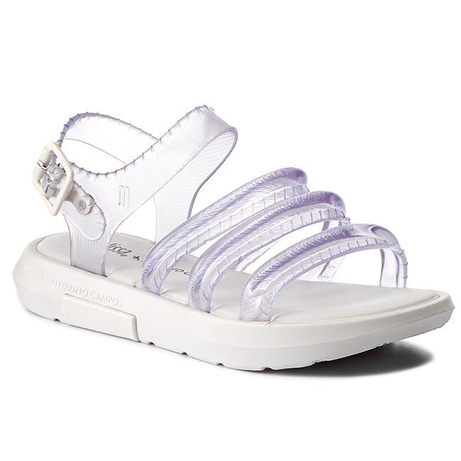 Sandali MELISSA - Flox + Vitorino Campos 32228 bianca Glass 52961 - Sandali da giorno - Sandali - Ciabatte e sandali - Donna   Colore Brillantezza    Uomini/Donne Scarpa