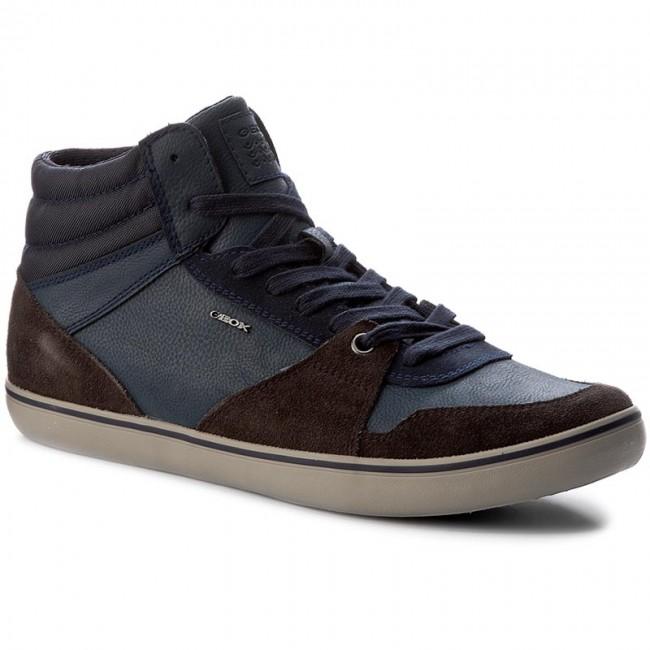 Sneakers GEOX - U Box J U74R3J 022EK C6TF4 Dk Coffee Navy - Sneakers ... b2ec31f57b6