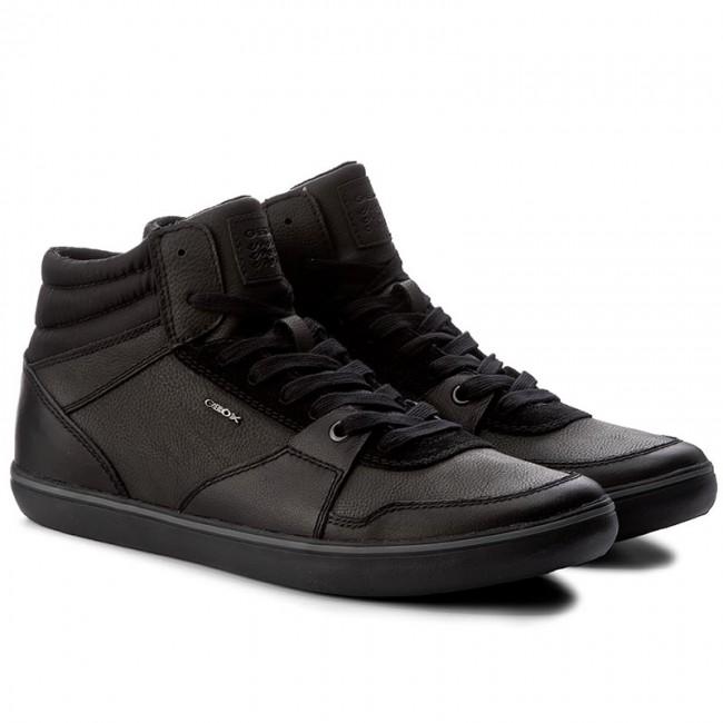 Sneakers GEOX - U Box J U74R3J 085EK C9999 Black - Sneakers - Scarpe basse  - Uomo - www.escarpe.it a92fbb11e92