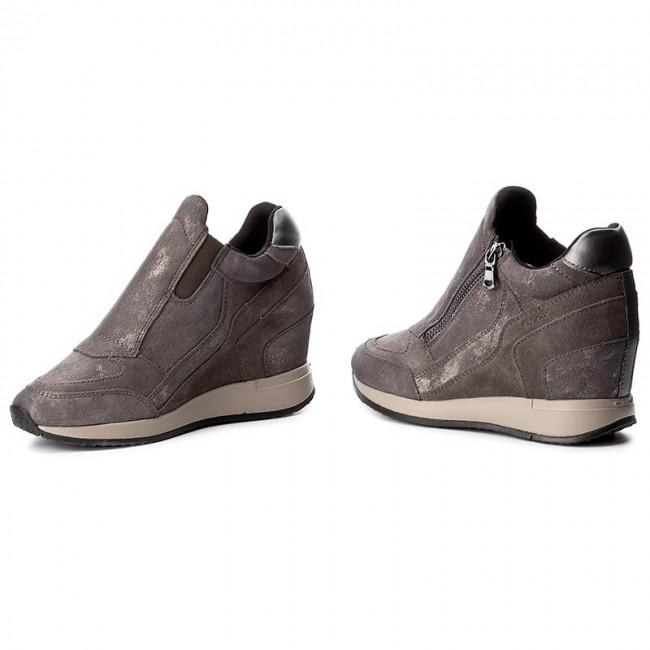 Sneakers D620QA Grey 07722 GEOX D A Nydame Dk Sneakers C9002 fqrqpI