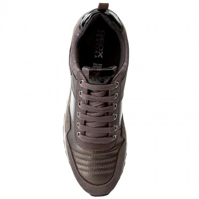 Sneakers GEOX D Aneko B Abx A D643FA 022BN C6457 ChestnutCoffee