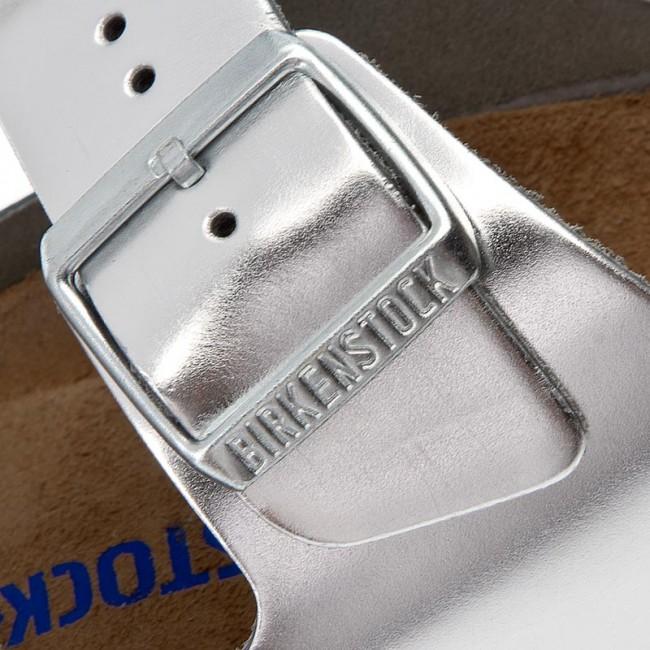 Ciabatte BIRKENSTOCK - Arizona 1005961 Silver - Ciabatte da giorno ... e259b26d231