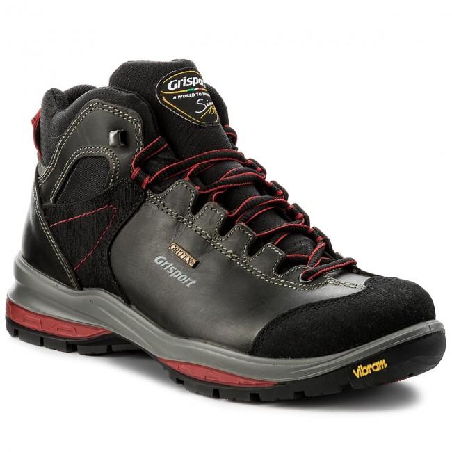 Scarpe da trekking GRISPORT - 12525D42G Black - Scarpe da trekking e ... 5de230e75ef