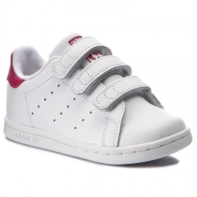 Scarpe adidas - Stan Smith Cf I BZ0523 Ftwwht Ftwwht Bopnk - Con ... b252366dab8