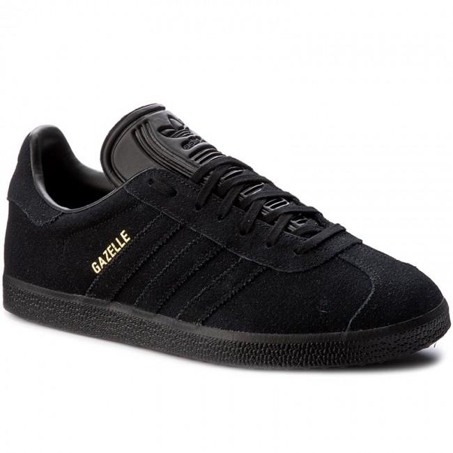 NUOVO Adidas Originals Gazelle Scarpe Sneaker Scarpe Da Ginnastica Nero bb5497 tempo libero